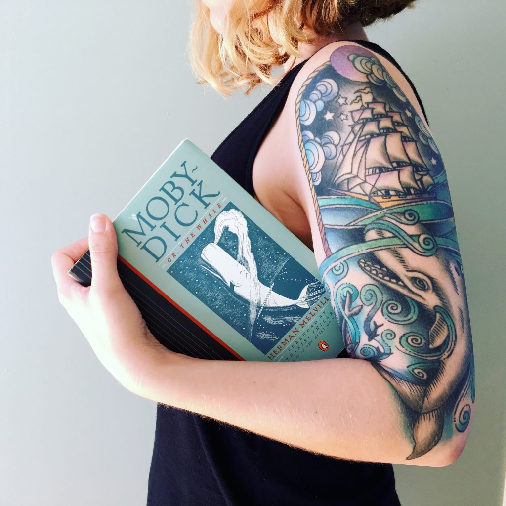 I may or may not have a giant Moby-Dick tattoo.