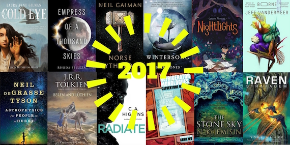 Cover Collage for Most-Anticipated Books Coming in 2017