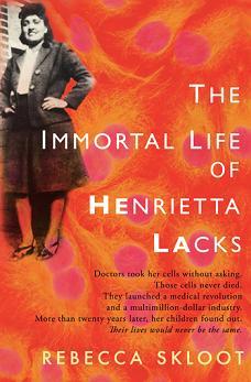 book cover the immortal life of henrietta lacks