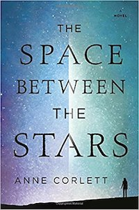 cover of Space Between the Stars by Anne Corlett