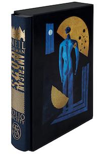 american gods folio society edition in slipcase