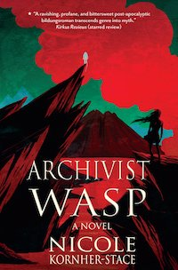 cover of Archivist Wasp by Nicole Kornher-Stace