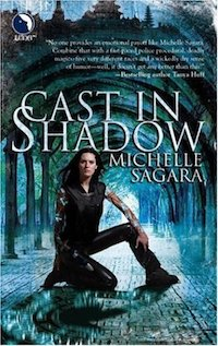 cover of Cast in Shadow by Michelle Sagara