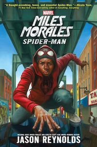 cover of miles morales by jason reynolds