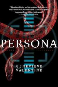 cover of Persona by Genevieve Valentine