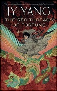 cover of Red Threads of Fortune by JY Yang