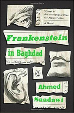 frankenstein in baghdad by ahmed saadawi book cover