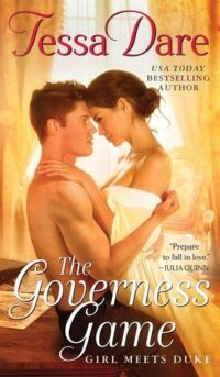 cover of the governess game by tessa dare