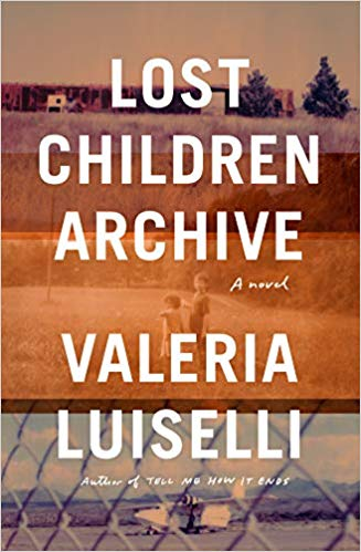 cover image of lost children archive by Valeria Luiselli