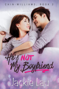 cover of He's Not My Boyfriend by Jackie Lau