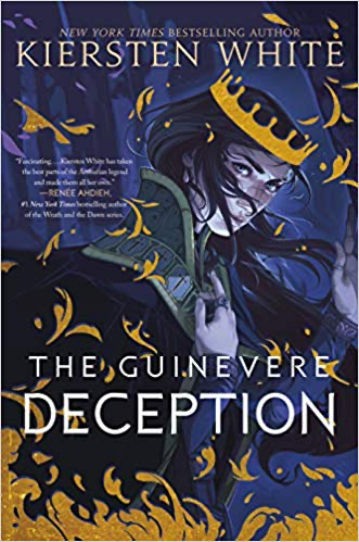 cover of Guinevere Deception by Kiersten White
