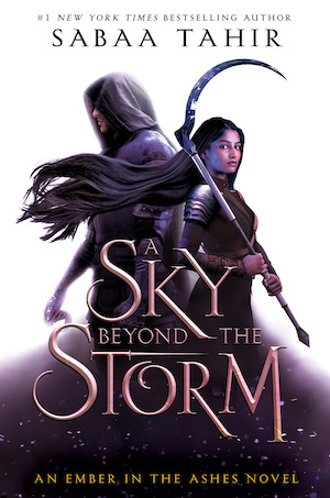 Cover of Sky Beyond the Storm by Sabaa Tahir