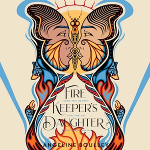 audiobook cover image of Firekeeper's Daughter by Angeline Boulley