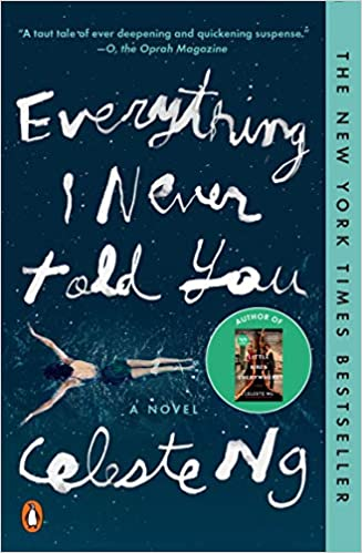 cover image of everything I never told you by Celeste Ng