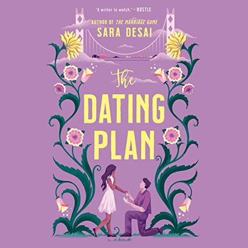 audiobook cover image of The Dating Plan by Sara Desai