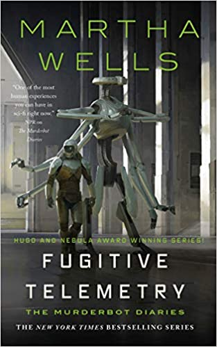 Cover of Fugitive Telemetry by Martha Wells