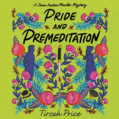 audiobook cover image of Pride and Premeditation by Tirzah Price