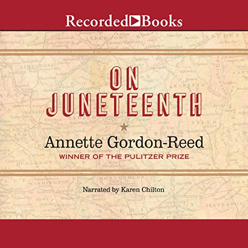 audiobook cover image of On Juneteenth by Annette Gordon-Reed