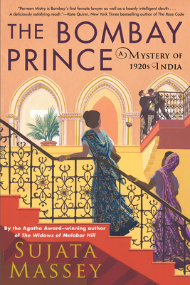 cover image of The Bombay Prince by Sujata Massey