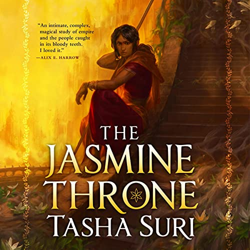 cover image of The Jasmine Throne by Tasha Suri