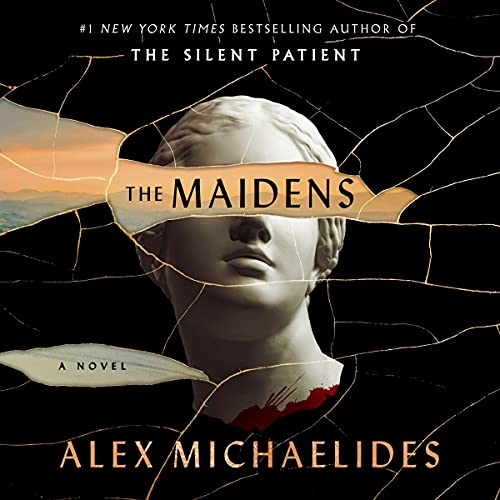 audiobook cover image of The Maidens by Alex Michaelides