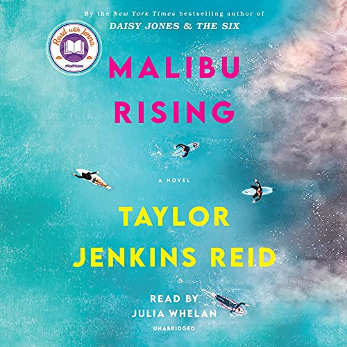 audiobook cover image of Malibu Rising by Taylor Jenkins Reid