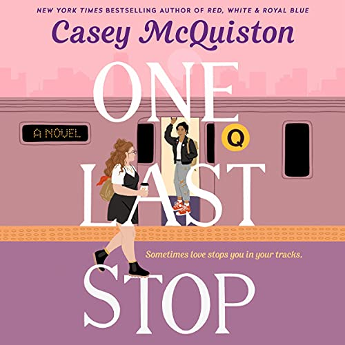 audiobook cover image of One Last Stop by Casey McQuiston