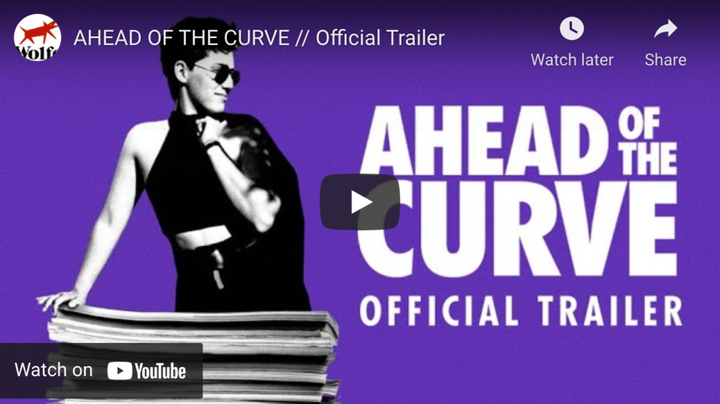 Thumbnail of trailer for Ahead of the Curve documentary