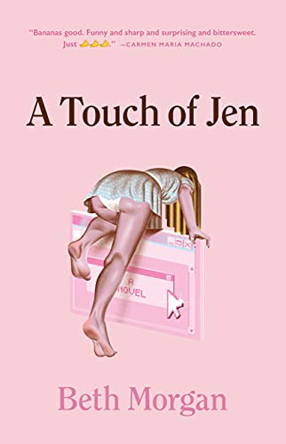 cover of a touch of jen by beth morgan