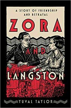 zora Neale hurston and langston hughes drawn