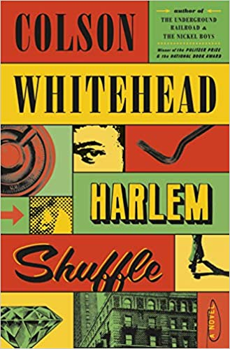 cover image of Harlem Shuffle showing a collage