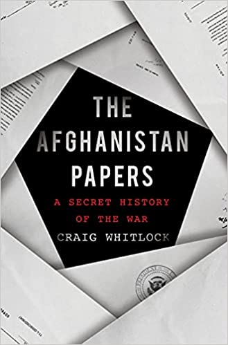 cover of The Afghanistan Papers by Craig Whitlock