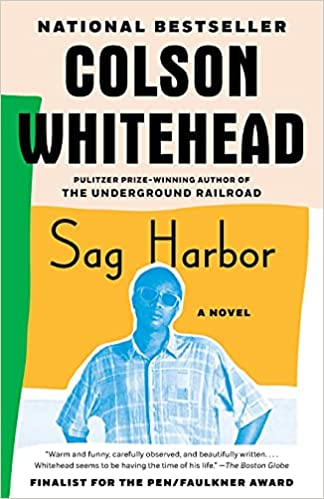 cover of sag harbor by colson whitehead