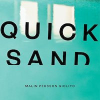 A graphic of the cover of quicksand