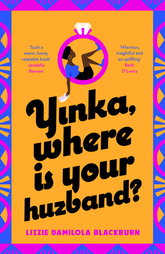 cover of Yinka, Where is Your Huzband? by Lizzie Damilola Blackburn