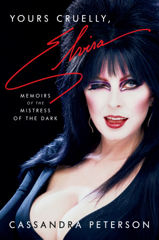 Yours Cruelly, Elvira cover
