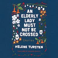 A graphic of the cover of An Elderly Lady Should Not Be Crossed