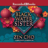 A graphic of the cover of Black Water Sister by Zen Cho
