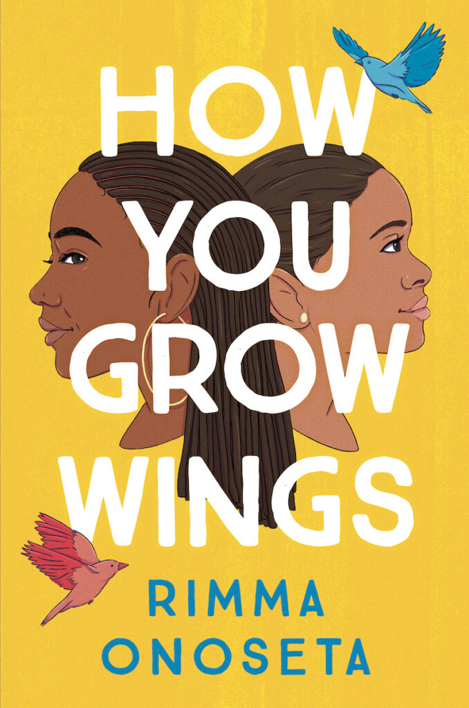 cover of How You Grew Wings by Rimma Onoseta