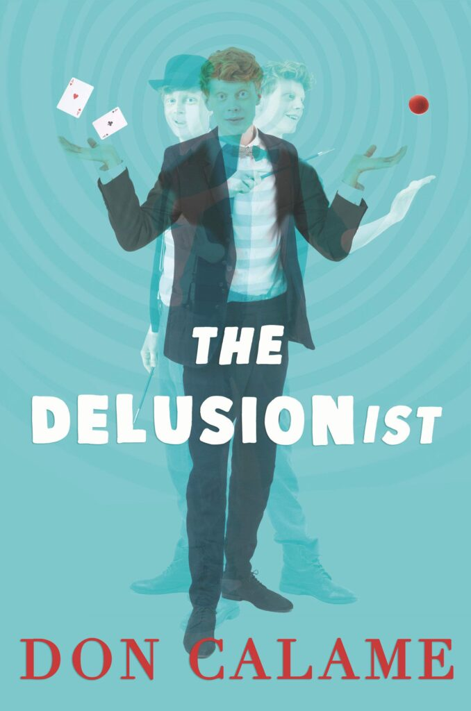 Book cover for The Delusionist